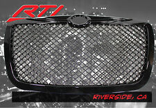 05-10 Chrysler 300 300C Touring Limited SRT8 Honeycomb Mesh Grill Gloss Black