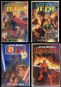 Star Wars: Graphic Novel 4 book lot