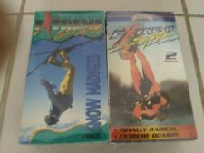 New listing EXTREME SPORTS - 2 Double VHS packs - Awesome !!! Brand new - Sealed - WOW