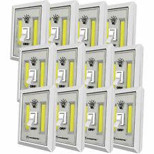 Portable 200 Lumen Cordless LED COB Night Light Switch Set of 12
