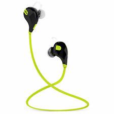 Sports Bluetooth In-Ear Headphones Earphones Wireless Binaural with Microphone Mobile