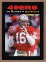Joe Montana '82 San Francisco 49ers Monarch Corona Glory Days #27 mint cond.