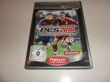 PlayStation 2 PS 2 pro evolution soccer 2010 Platinum (4)