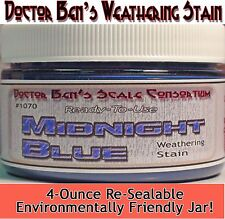 Midnight Blue Weathering Stain- 00004000 4oz Ready-To-Use Floquil Replacement Wood/ oss81
