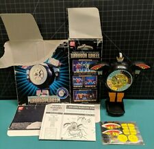 "1996 Power Rangers 4"" Zeo Warrior Wheel Zord MMPR with Box, Instructions"
