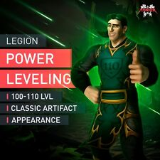 WoW 100-110 Powerleveling Deutsche IP Adresse Level Boost World of Warcraft