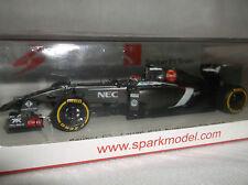 NEW SPARK F1 ~ 1:43 E. Gutierrez ~ Sauber C33 Ferrari ~ Australian GP 2014
