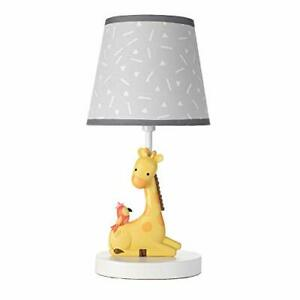 Bedtime Originals Mighty Jungle Lamp with Shade & Bulb Multicolor