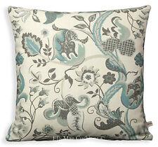 Blendworth Fabric Cushion Pillow  Cover Radiance Designer Blue Grey