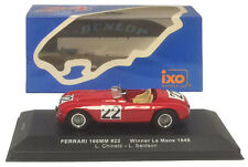 IXO LM1949 Ferrari 166mm #22 Winner Le Mans 1949 Scale 1 43