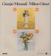 MORANDI Giorgio, GLASER Milton, Giorgio Morandi Milton Glaser