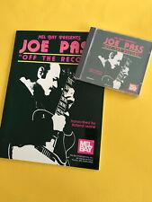 Off The Record, Joe Pass, Book/CD Set
