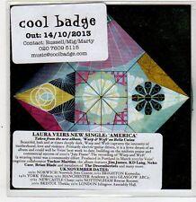 (ER392) Laura Veirs, America - 2013 DJ CD