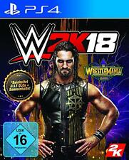 PS4 Spiel WWE 2K18 WrestleMania Edition World Wide Wrestling 2018 NEUWARE
