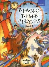 Piano Time Pieces Book 1, Pauline Hall, Sheet Music Tutor Book, Learn The Piano