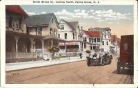 Penns Grove, NEW JERSEY - South Broad Street - old car, old ruck