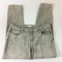 P24 Eileen Fisher Straight Jeans! Sz 12 Womens Denim Pants Organic Cotton
