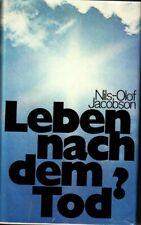 NILS-OLOF JACOBSON: LEBEN NACH DEM TOD - GEBUNDEN SEHR GUT ERHALTEN