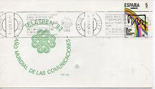 España Año Mundial de las Comunicaciones Lerida 1983 (CC-912)
