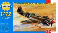 P-40 k kittyhawk mk iii (112 sqn raf 64 sqn usaaf & soviet af MKGS) 1/72 smer