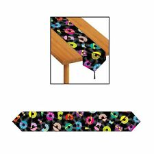 Rock & Roll Music Printed Paper Table Runner Decoration - Parties & Events - New