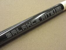 """Balance Rite One Piece Short Pool Cue 52"""" Heavy Weighted w/ FREE Shipping"""