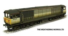 Boxed Heljan BR Railfreight Grey Sector Class 58 028 *WEATHERED LOOK* DCC Ready