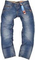 Timezone Herren Jeans Harold TZ 3627 blau Jeanshose Hose Angebot reduziert