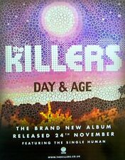 THE KILLERS 2008 original ADVERT DAY & AGE
