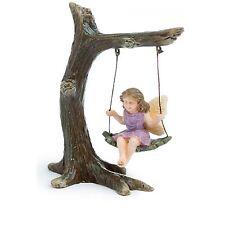 Mini Miniature Fairy Pixie Arch Swing Garden Home Gift Decoration Accessory