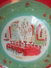 Pfaltzgraff Pistoulet Christmas Holiday Platter Functional & Decorative