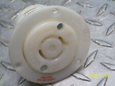 HUBBELL HBL2436 RECEPTACLE FLANGED TWIST LOCK