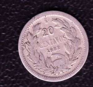 CHILE 20 CENTS 1932