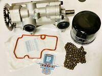 13-14 RZR XP 900 XP900 Oil Pump Filter Chain Seal Gasket Bomba Cooler OEM Hi Flo
