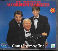 VLAAMS ACCORDEON TRIO - De Mooiste Accordeonfavorieten (2 CD BOX) 28TR 1992 RARE
