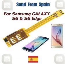 Dual SIM Card Adapter for Samsung Galaxy S6, S6 EDGE, Alpha, A3, A5 and A7