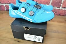 "New Open Box! S-works 7 ""Nice Blue"" Road Cycling Shoes 46 EU / 12.25 US BOA"
