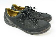 ECCO Urbaneering Biom Grip Black Leather Running Sneaker Walking Shoes Men 46 12