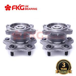 2PCS Brand New Rear Wheel Bearing Hub Assembly For Nissan Maxima J31 2003-2008