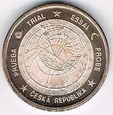 Tjechie 2003 (Gr) probe-pattern-essai - 5 eurocent - Uurwerk