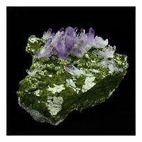 Amethyst + Epidot 4003.0 Ct. Las Vigas, Veracruz, Mexiko