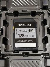 Toshiba Exceria Pro SDXC Memory Card 128GB -UHS Class 3