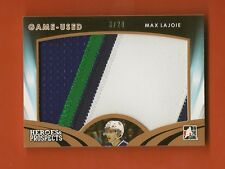 MAX LAJOIE- 2015-16 ITG Heroes & Prospects Prospect Jersey Patch #3/20 - Broncos