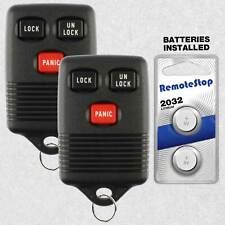 2 For 1993 1994 1995 1996 1997 Ford Bronco Econoline Explorer Car Remote Key Fob