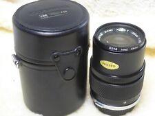 OLYMPUS OM E.ZUIKO AUTO-T 1:3.5 F=135mm Portrait Lens OM-1 OM-2, OM-3 OM-4 etc.