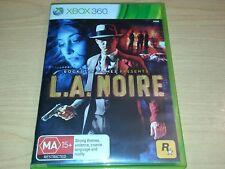 L.A. NOIRE XBOX 360 GAME COMPLETE MA15+ VGC.