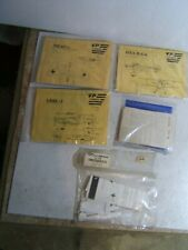 Lot of 4 Vtg. 1/72 Vac Vacuum Form Formed Me-163 & Other Model Airplane Kits 3