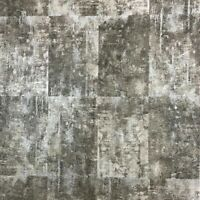 Wall coverings rolls gray silver metallic Wallpaper Concrete stone slab tiles 3D