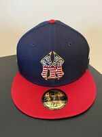 New York Yankees 4th Of July Hat New Era Authentic 59FIFTY On-Field 7 5/8