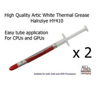 2 x Artic White Halnziye HY410 High Quality Thermal Heatsink Processor Paste
